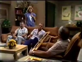 Harold Bishop, Madge Bishop, Jim Robinson, Rob Lewis in Neighbours Episode 0464