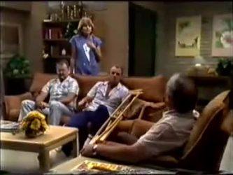 Harold Bishop, Madge Mitchell, Jim Robinson, Rob Lewis in Neighbours Episode 0464