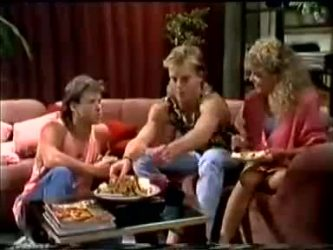 Mike Young, Scott Robinson, Charlene Mitchell in Neighbours Episode 0464