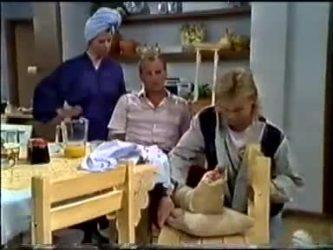 Helen Daniels, Jim Robinson, Scott Robinson in Neighbours Episode 0465