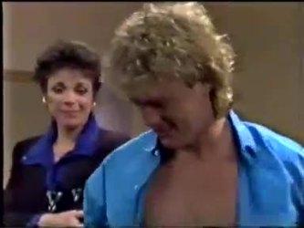Christine Wilton, Henry Mitchell in Neighbours Episode 0466