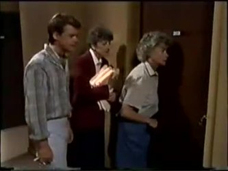 Paul Robinson, Nell Mangel, Helen Daniels in Neighbours Episode 0467