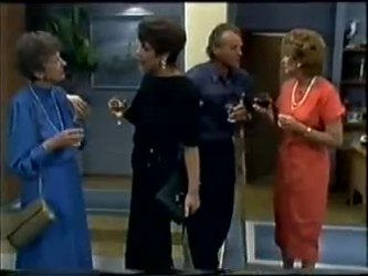 Nell Mangel, Christine Wilton, Jim Robinson, Madge Bishop in Neighbours Episode 0467