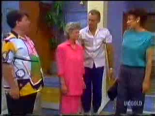 Dennis Wilton, Helen Daniels, Jim Robinson, Christine Wilton in Neighbours Episode 0468