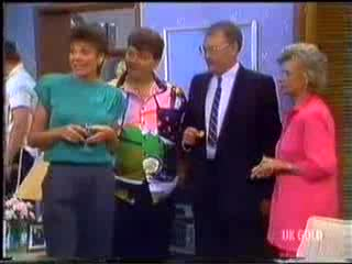 Christine Wilton, Dennis Wilton, Harold Bishop, Helen Daniels in Neighbours Episode 0468