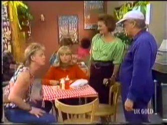 Scott Robinson, Jane Harris, Gail Robinson, Rob Lewis in Neighbours Episode 0469