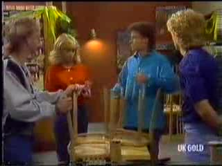Scott Robinson, Jane Harris, Mike Young, Henry Mitchell in Neighbours Episode 0470