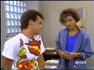 Paul Robinson, Gail Robinson in Neighbours Episode 0470