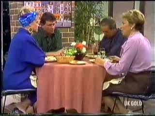 Daphne Clarke, Des Clarke, Allen Lawrence, Eileen Clarke in Neighbours Episode 0470