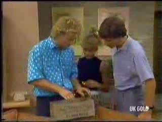 Henry Mitchell, Charlene Mitchell, Warren Murphy in Neighbours Episode 0470