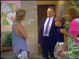 Scott Robinson, Madge Bishop, Charlene Mitchell, Madge Bishop in Neighbours Episode 0472