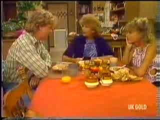 Henry Ramsay, Madge Bishop, Charlene Mitchell in Neighbours Episode 0472