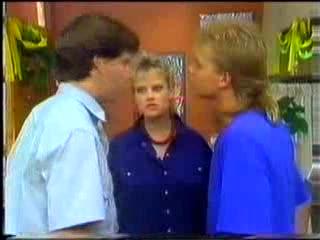 Warren Murphy, Daphne Clarke, Scott Robinson in Neighbours Episode 0472