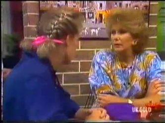 Daphne Clarke, Madge Bishop in Neighbours Episode 0474