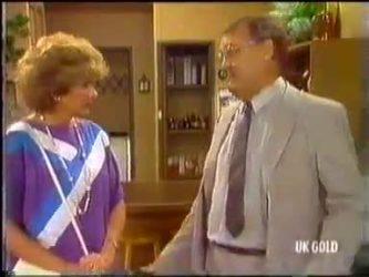 Madge Bishop, Harold Bishop in Neighbours Episode 0474