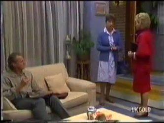 Jim Robinson, Nell Mangel, Helen Daniels in Neighbours Episode 0479