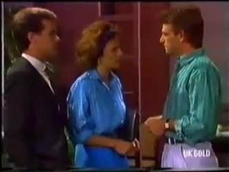 Paul Robinson, Gail Robinson, Jeremy Lord in Neighbours Episode 0480