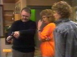 Harold Bishop, Madge Bishop, Henry Ramsay in Neighbours Episode 0777