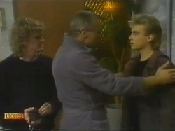 Henry Ramsay, Jim Robinson, Nick Page in Neighbours Episode 0779