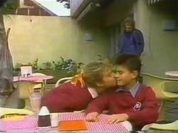 Henry Ramsay, Emma Gordon, Todd Landers in Neighbours Episode 0779