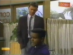 Des Clarke, Pete Baxter in Neighbours Episode 0779
