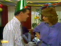 Paul Robinson, Madge Bishop in Neighbours Episode 0780
