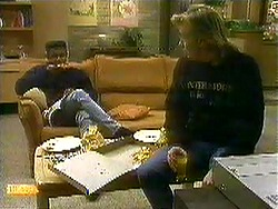 Pete Baxter, Scott Robinson in Neighbours Episode 0781