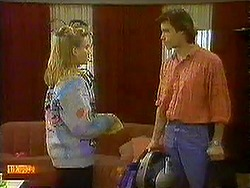 Bronwyn Davies, Mike Young in Neighbours Episode 0781