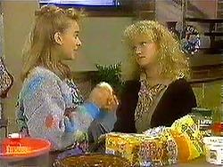 Bronwyn Davies, Sharon Davies in Neighbours Episode 0781
