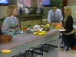 Bronwyn Davies, Des Clarke, Sharon Davies in Neighbours Episode 0781
