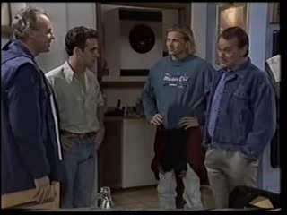 Jim Robinson, Glen Donnelly, Brad Willis, Doug Willis in Neighbours Episode 1501