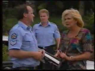 Sergeant Bowen, Madge Bishop in Neighbours Episode 1592