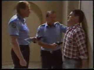 Sergeant Bowen, Police Officer, Bob Landers in Neighbours Episode 1592