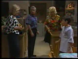 Madge Bishop, Lou Carpenter, Brenda Riley, Toby Mangel in Neighbours Episode 1592