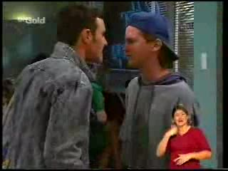 Stonie Rebecchi, Brett Stark in Neighbours Episode 2306