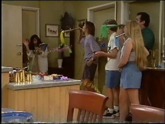 Susan Kennedy, Malcolm Kennedy, Billy Kennedy, Libby Kennedy, Karl Kennedy in Neighbours Episode 2342