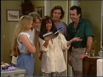 Libby Kennedy, Billy Kennedy, Susan Kennedy, Malcolm Kennedy, Karl Kennedy in Neighbours Episode 2342