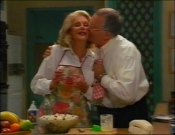 Madge Bishop, Harold Bishop in Neighbours Episode 2961