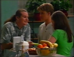 Toadie Rebecchi, Billy Kennedy, Caitlin Atkins in Neighbours Episode 2961