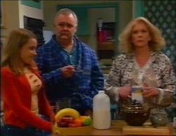 Claire Girard, Harold Bishop, Madge Bishop in Neighbours Episode 2961