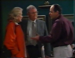 Madge Bishop, Harold Bishop, Philip Martin in Neighbours Episode 2962