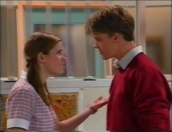 Anne Wilkinson, Billy Kennedy in Neighbours Episode 2963