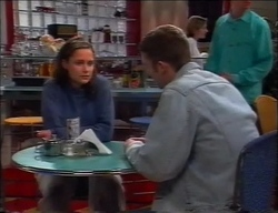 Caitlin Atkins, Ben Atkins in Neighbours Episode 2963