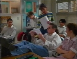 Lance Wilkinson, Susan Kennedy, Toadie Rebecchi, Anne Wilkinson in Neighbours Episode 2963