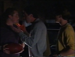 Toadie Rebecchi, Karl Kennedy, Lance Wilkinson in Neighbours Episode 2963