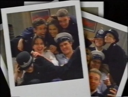 Martin Pike, Sarah Beaumont, Ben Atkins, Darren Stark, Matt Compton, Libby Kennedy in Neighbours Episode 2964