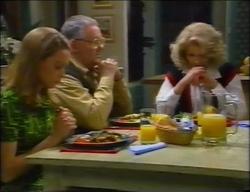 Claire Girard, Harold Bishop, Madge Bishop in Neighbours Episode 2966