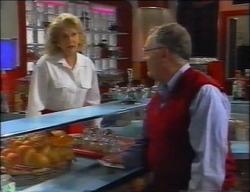Madge Bishop, Harold Bishop in Neighbours Episode 2966