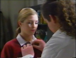 Amy Greenwood, Toadie Rebecchi in Neighbours Episode 2966