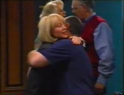 Madge Bishop, Harold Bishop, Rosemary Daniels, Philip Martin in Neighbours Episode 2966